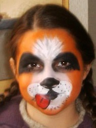Maquillage le chien